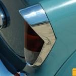 Opel Kapitän '57, Detail Heckansicht