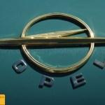 Opel Kapitän '57, Logo auf Hekcklappe