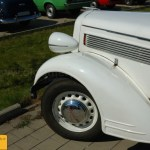 Opel Super 6 Cabriolet, Frontdetail
