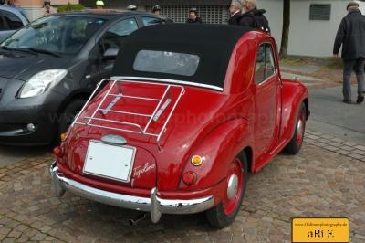 Fiat Topolino C, Heckansicht