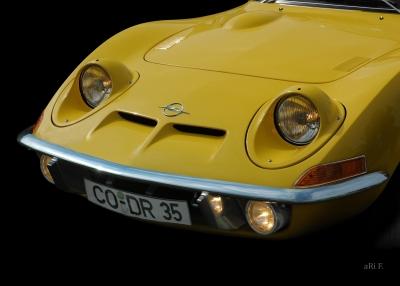 Opel GT - nur fliegen ist schöner!
