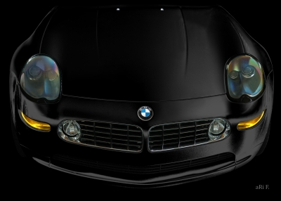 BMW Z8 in black & black