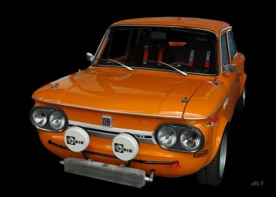 "NSU 1200 TT (Originalfarbe in ""Tibetorange"")"