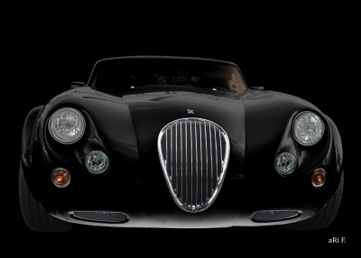 Wiesmann Roadster MF3 in front black & black 01