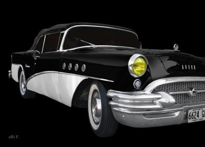 Buick Century Convertible 1955 for sale (Originalfarbe)