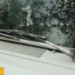 Fiat 1500 mit Scheibenwischer in Chrome