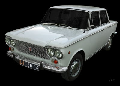 Fiat 1500 in Originalfarbe