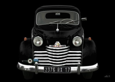 Opel Olympia in black (1950-1953)