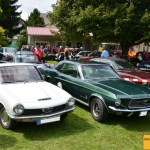 Glas 1300 und Ford Mustang 1