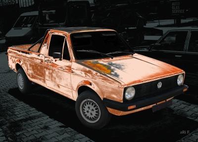 VW Golf 1 Caddy Poster kaufen
