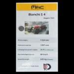 Bianchi S4, technische Daten