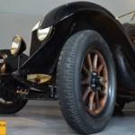 Bianchi S4, die Räder hatten noch Holzspeichen!