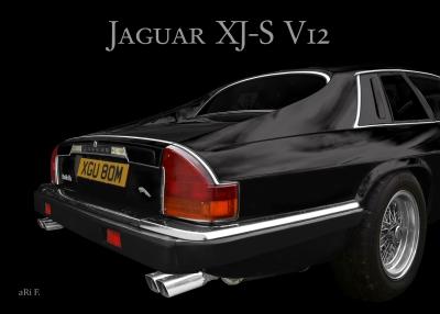 Jaguar XJ-S mit technischen Details