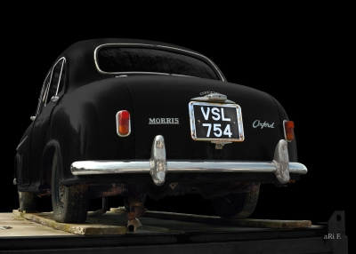 Morris Oxford Series II a very rare car in England