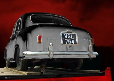 Morris Oxford Series II English Classic Car photography