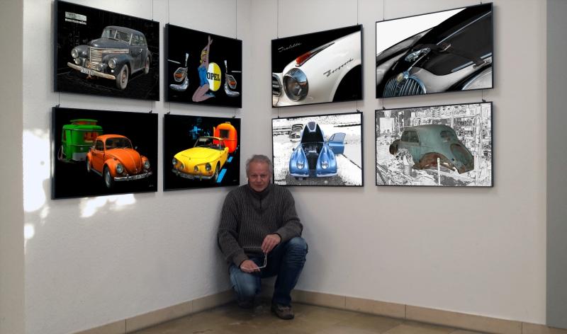 2016 Ausstellung Oldtimerphotography - Geliebte Blechraritäten