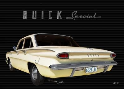Buick Special DeLuxe 4-Door Sedan Poster
