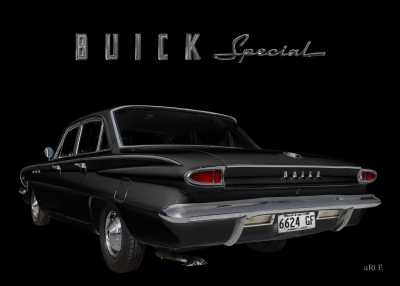 Buick Special DeLuxe 4-Door Sedan is Car of the year 1962