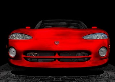 Dodge Viper RT10 Art Poster