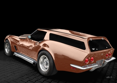 Eckler Corvette C3 Estate Poster