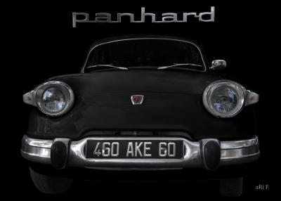 Panhard PL 17 französischer Oldtimer 60er Jahre Poster