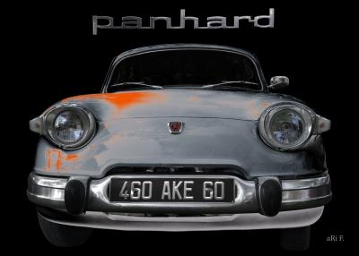 Panhard PL 17 Poster gebaut von 1959–1965
