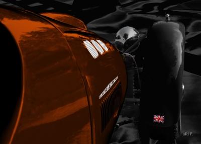 Ronart Jaguar W152 Poster for sale