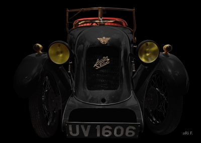 Austin Swallow Open Two Seater Tourer in black