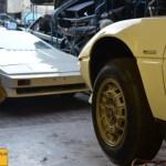 Maserati Merak SS, im Hintergrund ein Lotus Turbo Esprit