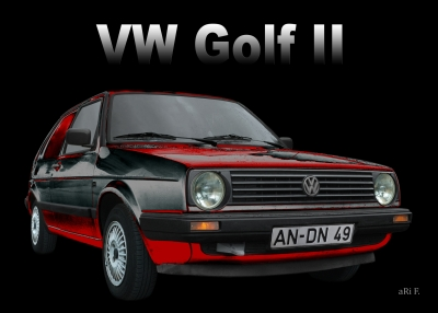 VW Golf 2 (1983–1992) Poster kaufen