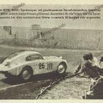 BMW 328 Stromlinien-Coupé (Touring Coupé) während des 24-Stunden Rennens von Le Mans 1939