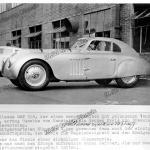 BMW 328 Touring Coupé nach der Mille Miglia 1940