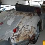 Jaguar XK 140 Heckansicht
