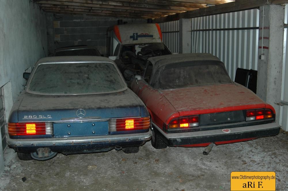 Mercedes-Benz SL und Alfa Romeo Spider