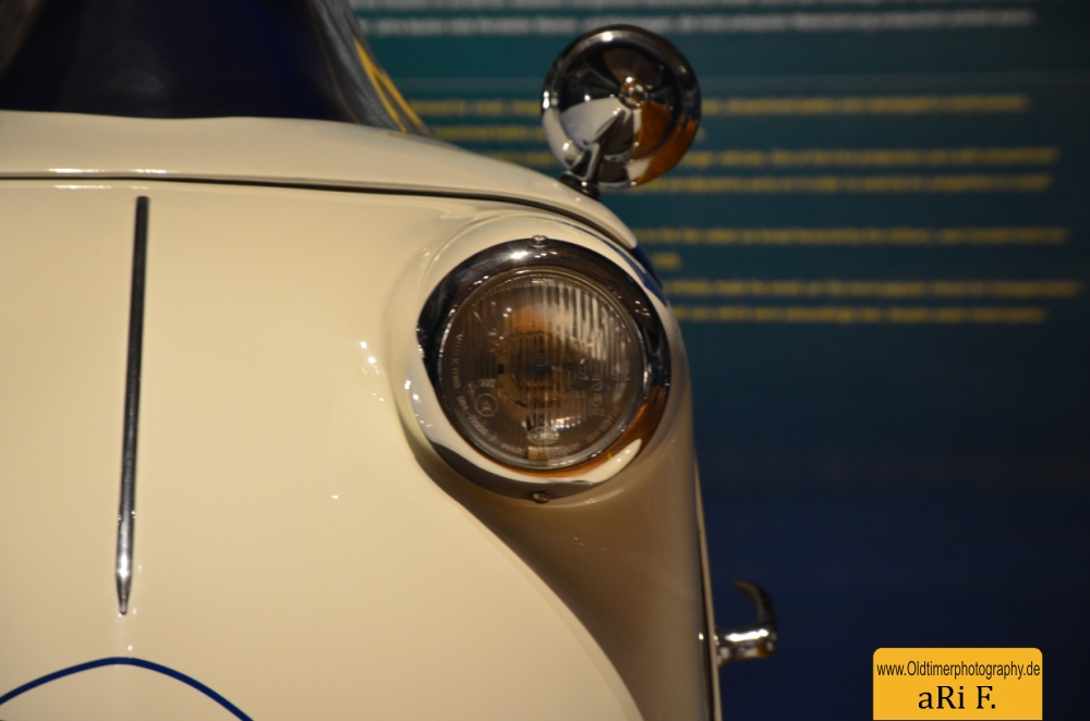 Messerschmitt KR 200 Super Detailansicht vorn