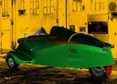 Messerschmitt KR 200 Super Kunstposter