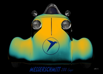 Messerschmitt KR 200 Super Rekordfahrzeug Roller