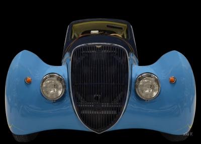 Peugeot 402 Dal'mart Coupé (Originalfarbe) Frontansicht