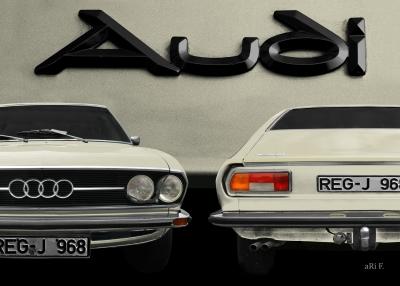 Audi 100 Coupe S restaurieren reparieren
