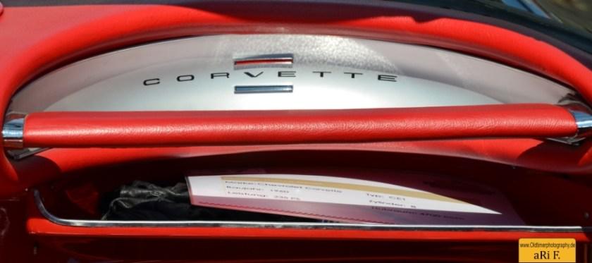 Corvette C1 Interieur Oldtimertreffen Langenargen