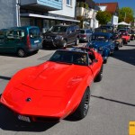 Corvette C3 - Opel Olympia im Wartestau
