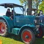 Hanomag Traktor beim Oldtimertreffen in Langenargen