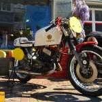 Oldtimer Motorrad Yamaha