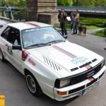 Audi Sport Quattro, 306 PS, Baujahr 1986, Team farbtex