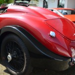 MG VA Tourer Special rear view