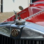 MG VA Tourer mit Kühlerfigur / with mascot