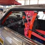 Mercedes-Benz SL 500 Interieur für die Ralley
