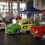 Oldtimer Ralleyautos im Tuning-Look