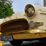 Der zweimillionste Opel Kapitän in goldfarben mit 75 PS. Baujahr 1956_9260