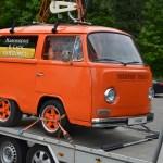 VW Bus stark gekürzt...